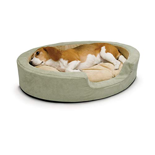 K & H Thermo-Snuggly Sleeper Heated Pet Bed for Cats and Dogs