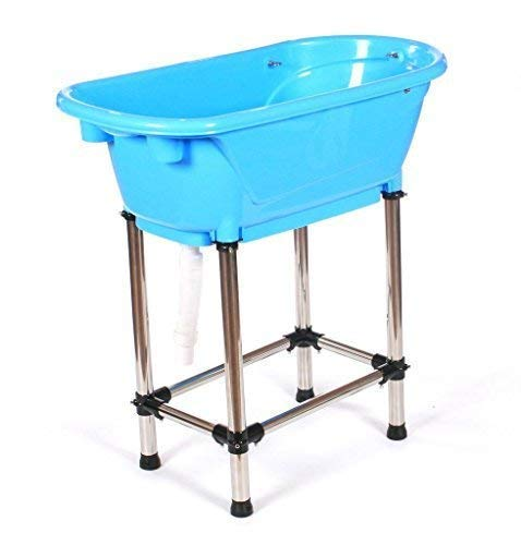 Pedigroom quality polypropylene pp plastic dog pet cat grooming bath tub bathtub blue