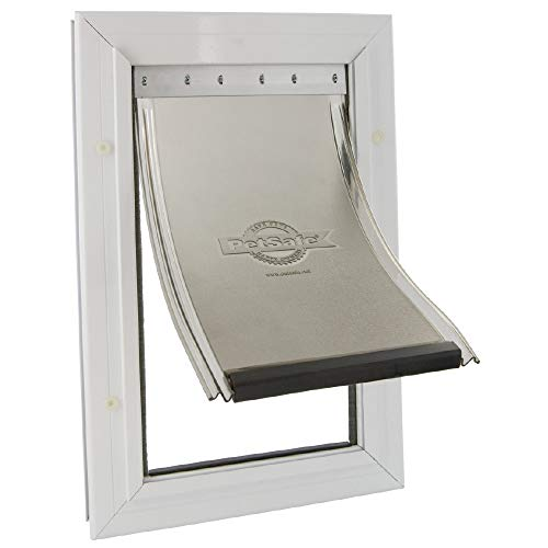 PetSafe, Staywell, Aluminium Pet Door, Extra Large, Solid Design, Easy Install