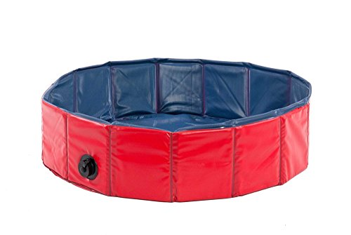 Karlie 31808 Doggy Pool 160 cm Diameter Red and Blue
