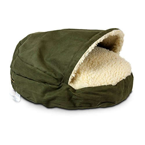Snoozer Luxury Cozy Cave Dog Bed (XL, Marine)