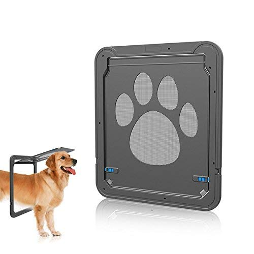 PETCUTE Cat flap Dog Door cat flap for flyscreen door For Medium Large Dogs Cats