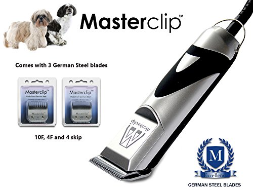 Masterclip Shih Tzu | Shihchon | Shihpoo | Professional Dog Clippers Set Pet Grooming Clipper Trimmer Supplies