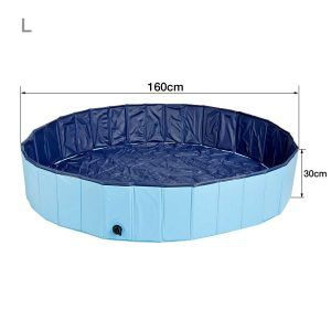 Kaka mall Multifunctional Large Foldable Pets Dog Cat Swimming Paddling Pool Bath Bathing Tub