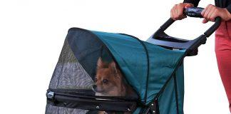 Pet Gear Happy Trails No-Zip Stroller