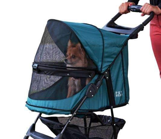 Pet Gear Happy Trails No-Zip Stroller